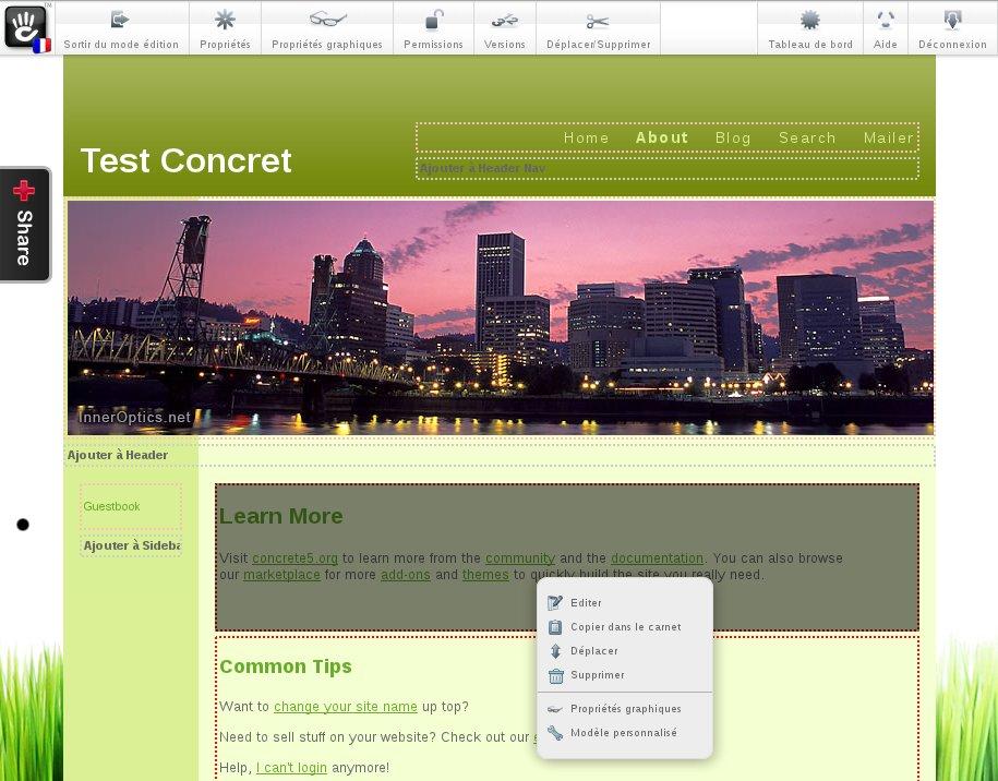 Planet Libre - Concrete 5, un logiciel libre facile à prendre en ... dae2eb56471b