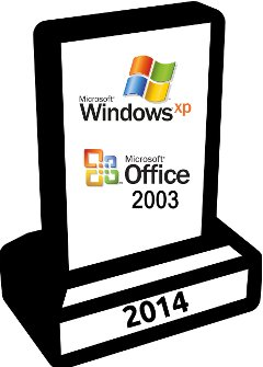 Fin du support de Windows XP et Office 2003 en 2014, les logiciels libres, une alternative ?