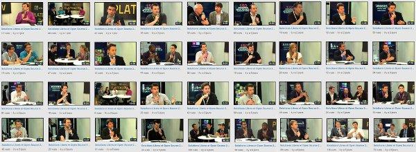 Les vidéos de Solutions Libres et Open Source 2013