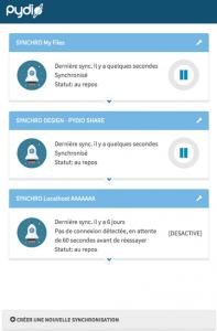 pydio-sync-client
