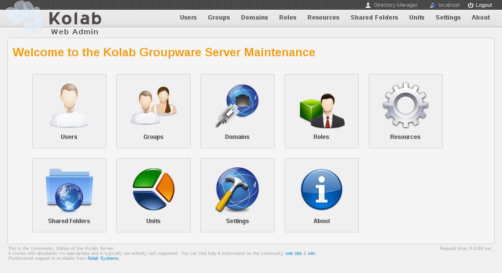 Kolab un groupware open source à (re)découvrir d'urgence
